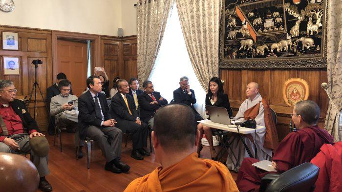 Dharma Study Circle at Burmese Embassy   Ibaa org